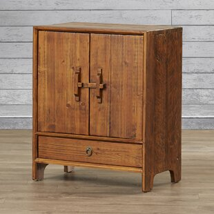 Hayford Dongbei-Style 2 Door Cabinet with Shelf by Loon Peak