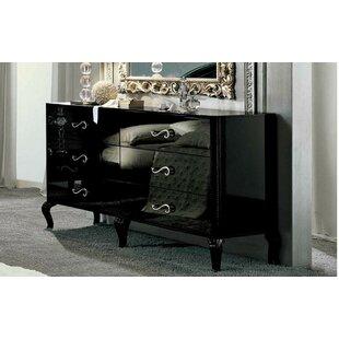 Noci Design 6 Drawer Double Dresser
