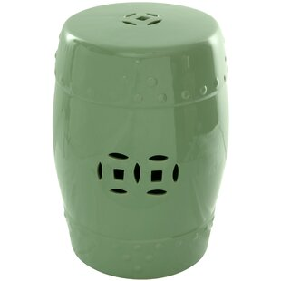 Lacquered Porcelain Garden Stool by Oriental Furniture