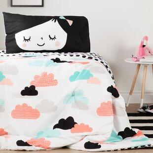 DreamIt Night Garden Reversible Comforter Set