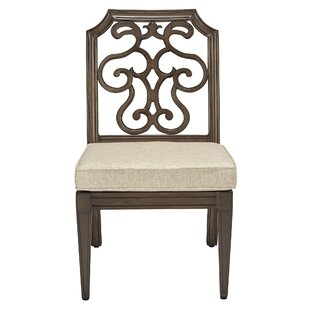 Hargrave Patio Dining Chair with Cushion (Set of 2)