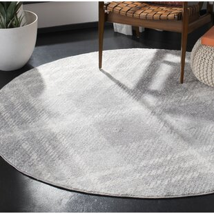 St. Ann Highlands Light Gray/Ivory Area Rug by Loon Peak