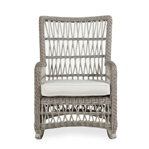 Mackinac High Back Porch Rocking Chair with Cushions