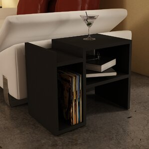 Capucine End Table by Ebern Designs