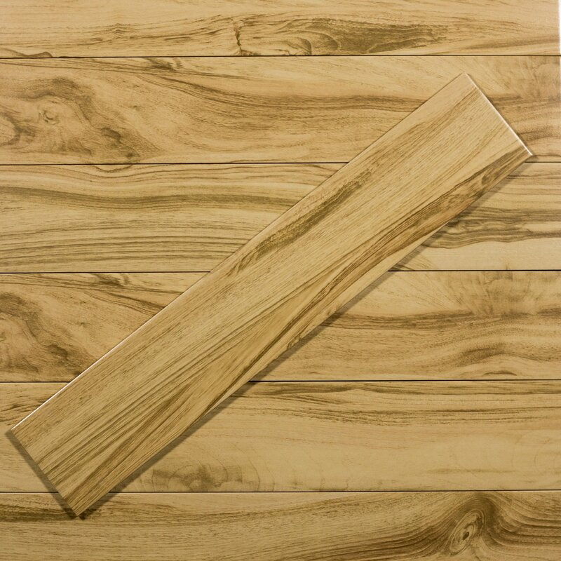 Wood 8 X 40 Ceramic Look Tile In