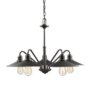 Casa 5-Light Shaded Chandelier