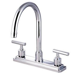 Elements of Design Sydney Double Handle Kitchen Faucet