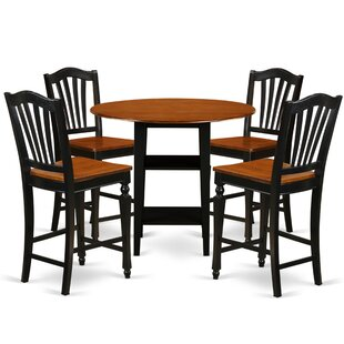 Tyshawn Counter Height 5 Piece Pub Table Set Charlton Home