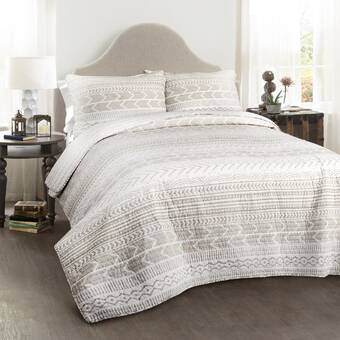 Three Posts Rilla Comforter Set Wayfair