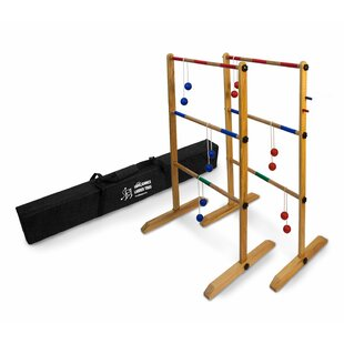 Astonishing Toss Double Ladder Ball With Carrying Case Ncnpc Chair Design For Home Ncnpcorg