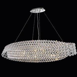 Esperanza 10-Light Crystal Pendant by Everly Quinn