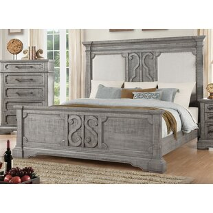 Freya Upholstered Panel Bed