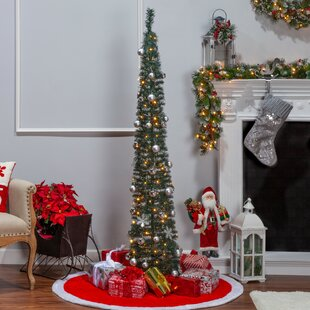 Pre Lit Christmas Tree That Puts Itself Up.Pop Up Christmas Trees You Ll Love In 2019 Wayfair