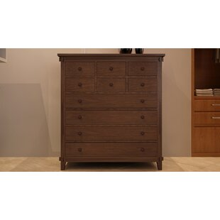 Cranleigh 10 Drawer Dresser by Loon Peak 2019 Sale
