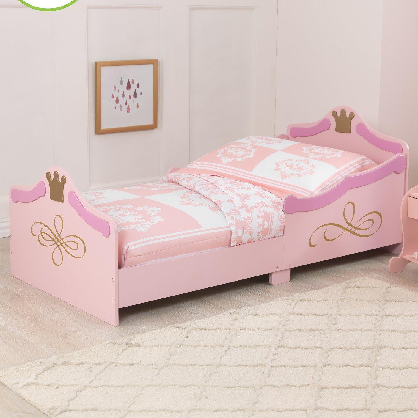 KidKraft Princess Convertible Toddler Bed Reviews