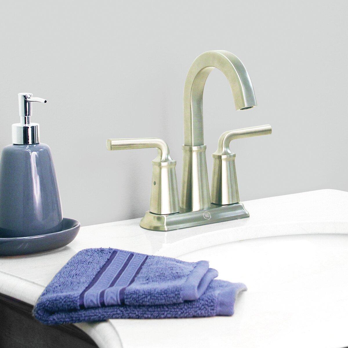 Windon Bay Chesapeake Centerset Bathroom Faucet With Drain Assembly Wayfair