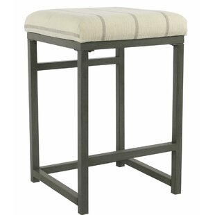 Linder Metal Open Back 24 Bar Stool