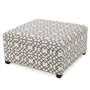 Trudel Fabric Storage Ottoman by Brayden Studio