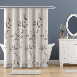 Trent Printed Single Shower Curtain