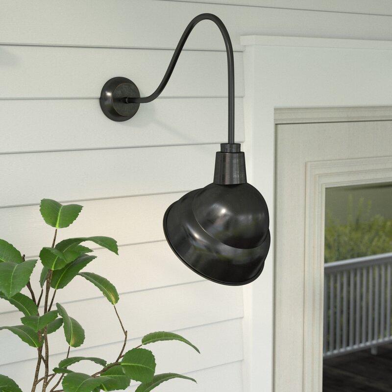 Gracie Oaks Rachit Outdoor Barn Light & Reviews