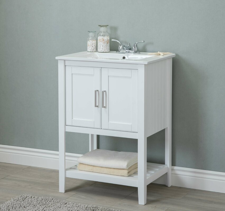 Gina 24  Single Bathroom Vanity. Gina 24  Single Bathroom Vanity   Reviews   Joss   Main