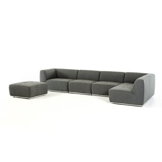 Alsatia Modular Sectional with Ottoman by Wade Logan SKU:BB222572 Order