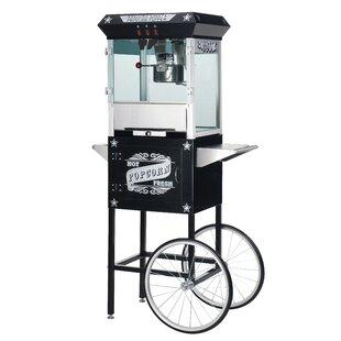 8 Oz. Paducah Antique Popcorn Machine w/ Cart