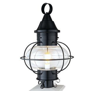 Master Piece New Vidalia Onion 1 Light Lantern Head From Norwell Lighting Is Best Post Light