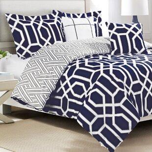 Klatt 5 Piece Reversible Comforter Set