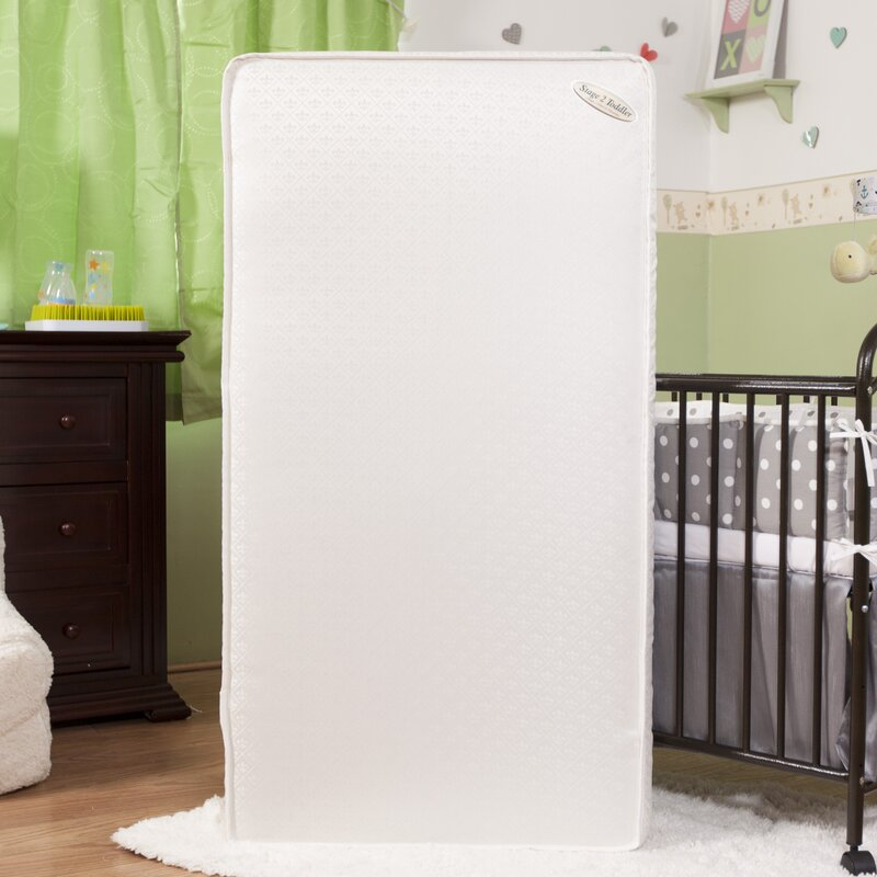 Viv Rae Eugenia Two in One 575 Crib Mattress with Jacquard Cover