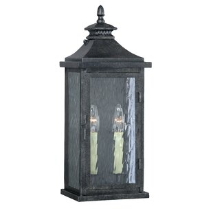 Affordable Price Wilhelmina 2-Light Outdoor Sconce By Darby Home Co