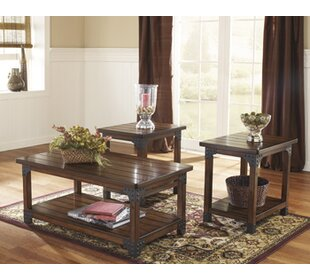 Boalt 3 Piece Coffee Table Set Trent Austin Design