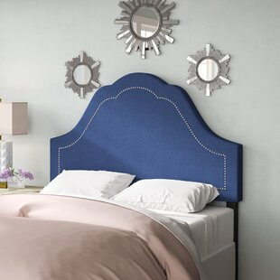 Shop For Evie Inset Nail Button Arch Upholstered Panel Headboard by Willa Arlo Interiors