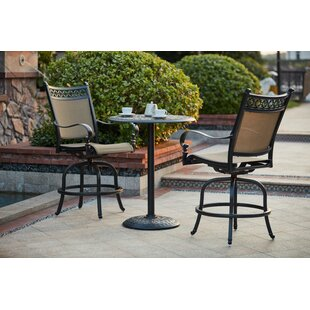 Darby Home Co Wabon 3 Piece Bar Height Dining Set