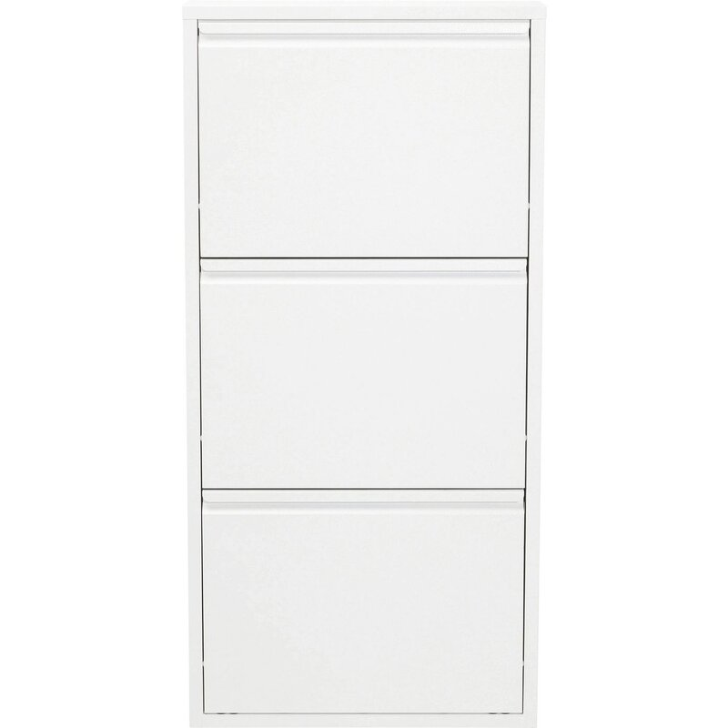 caruso 6 pair shoe storage cabinet