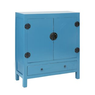 Lunar 2 Door and 1 Drawer Accent Cabinet by Jeffan