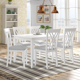 Gisella 7 Piece Breakfast Nook Dining Set Highland Dunes
