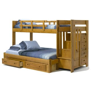 Twin Over Full Bunk Bed with Storage by Chelsea Home