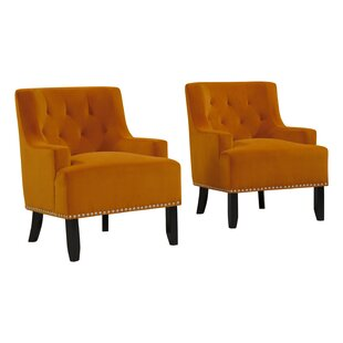Best Oriole Armchair (Set of 2) by Rosdorf Park Reviews (2019) & Buyer's Guide