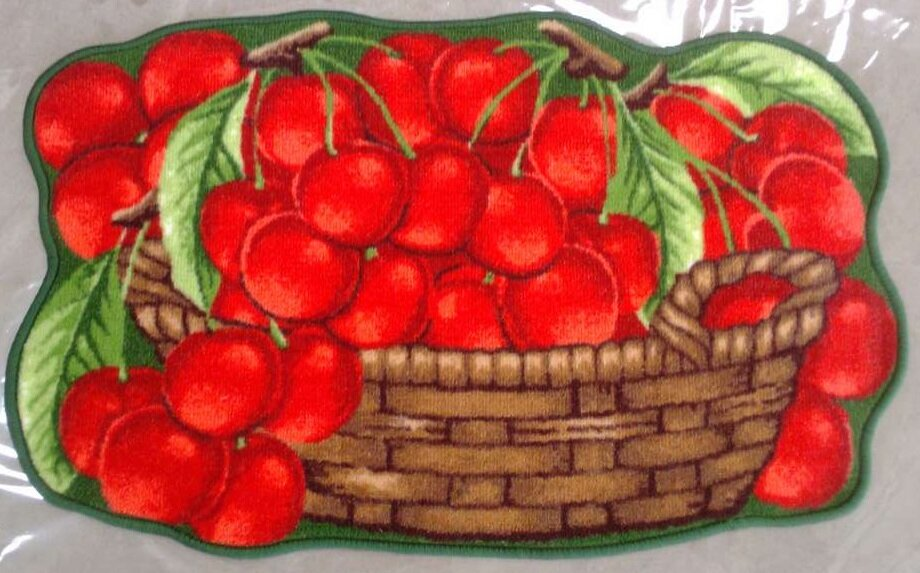 Yummy Cherries Kitchen Mat