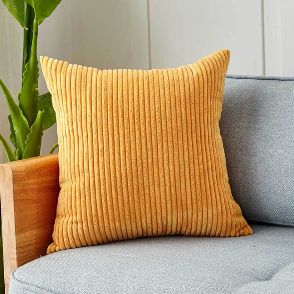 Ebern Designs Henri Square Pillow Cover Insert Reviews Wayfair
