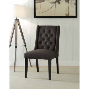 Dejesus Upholstered Dining Chair (Set of 2) by Alcott Hill