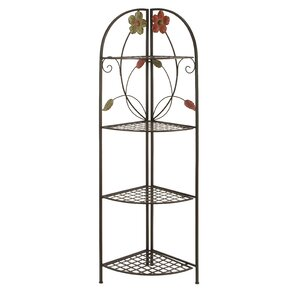 Metal Corner Baker's Rack by ABC Home Collection