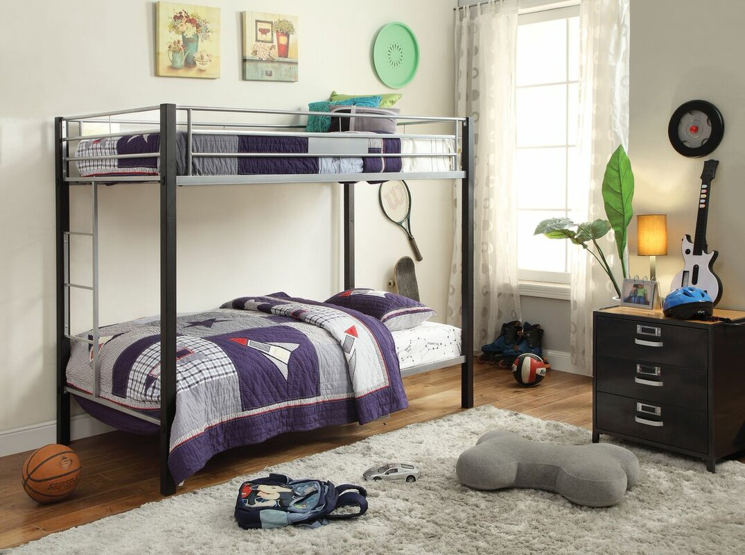 Edelstein Twin Over Twin Bunk Bed