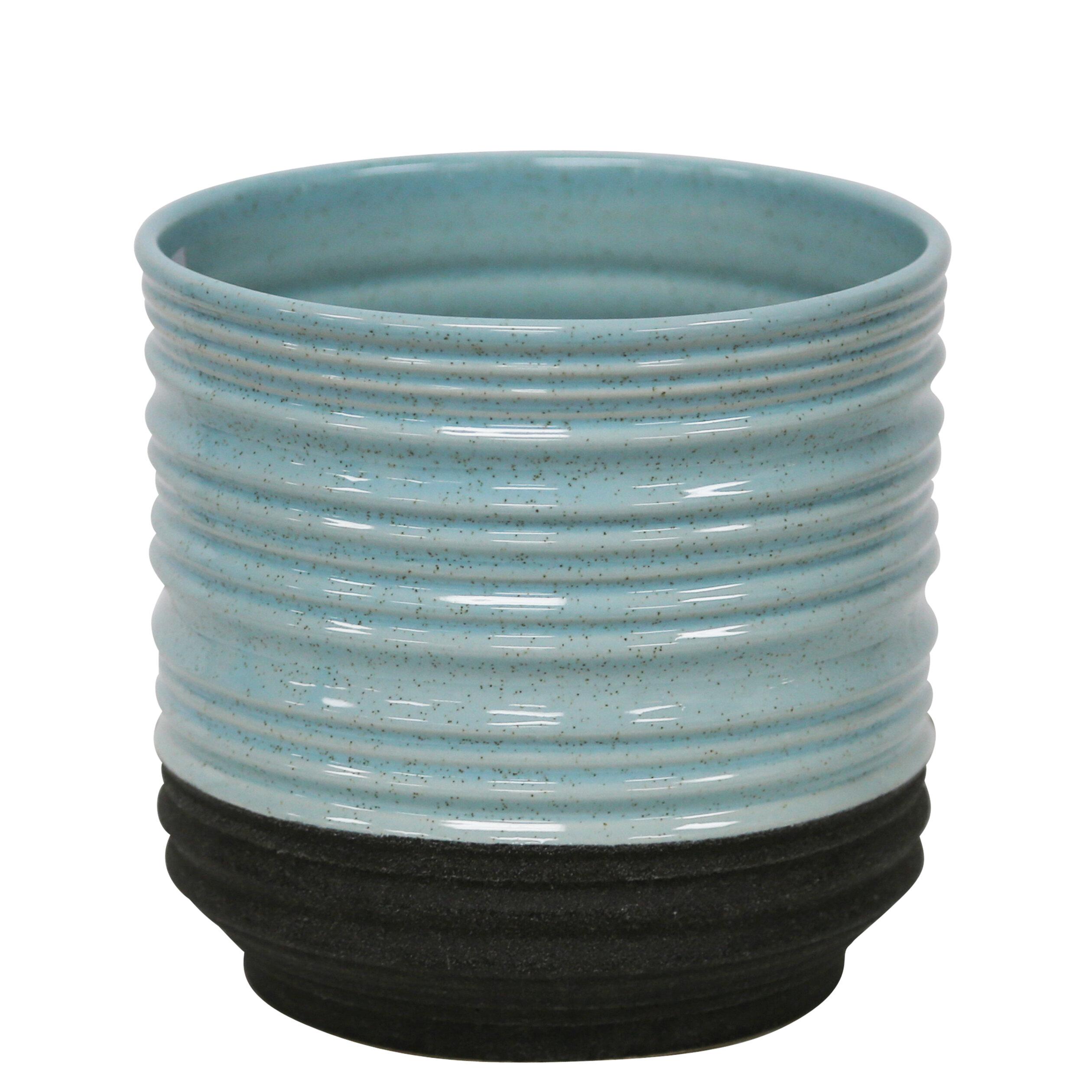 Pots A Fleurs Couleur Bleu Wayfair Ca
