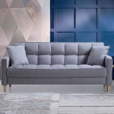small bedroom couch. Save to Idea Board  Beige Modern Linen Fabric Tufted Small Space Sofa Bedroom Couch Wayfair ca