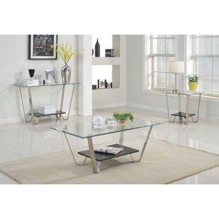 Ilana 3 Piece Coffee Table Set