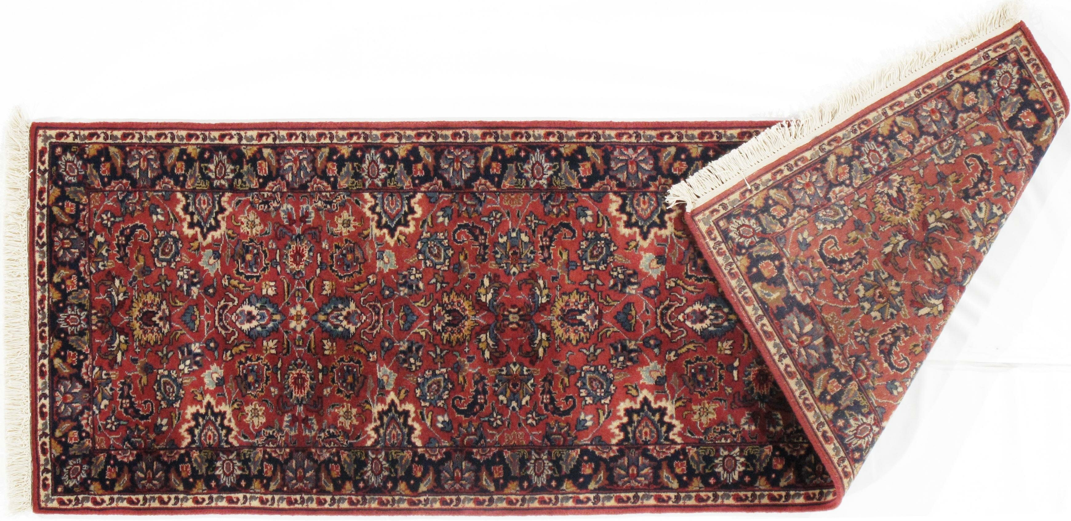 Pasargad Ny Tabriz Hand Knotted Wool Red Black Area Rug Wayfair