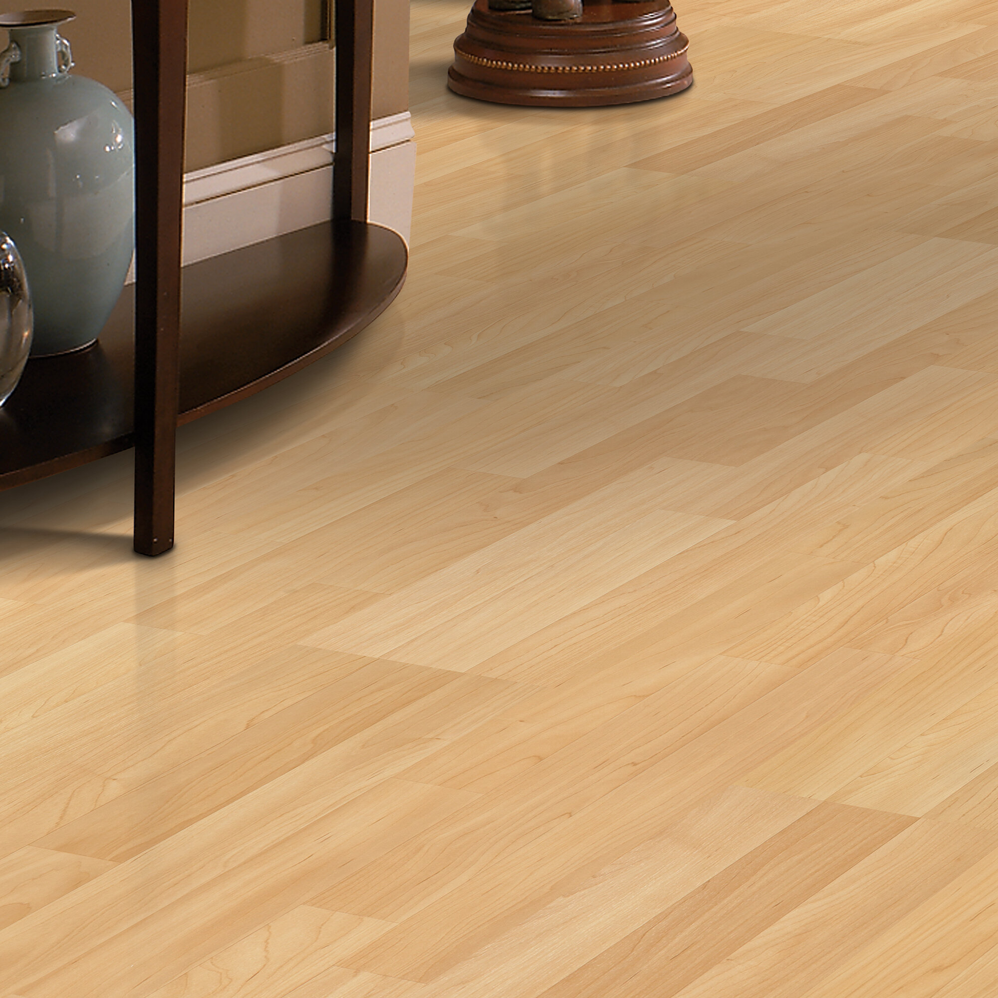 X 47 8mm Maple Laminate Flooring