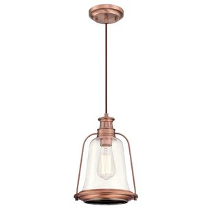 Williston Forge Marilou 1-Light Bell Pendant